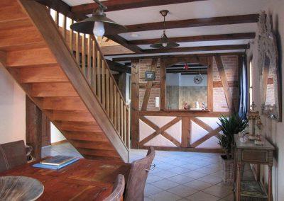 Tokay - Couloir et escalier